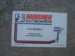 mariner outboard motors history