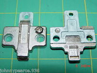 2 Blum Frame-less 175H9100 Hinge Mounting 0mm Plate 175H910-02.01 175H7100
