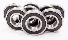 Qty 10 6205 2rs 6205 Rs Sealed Bearings Emq C3 25 X 52 X 15 Blk Std 3o167