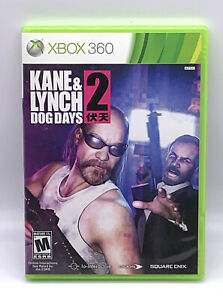 Kane & Lynch 2 Dog Days Xbox 360 Complete With Manual Tested