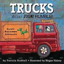 Trucks : Whizz! Zoom! Rumble! by Patricia Hubbell (2006, Paperback)