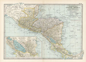 1897 CENTRAL AMERICA  by The Century Co,