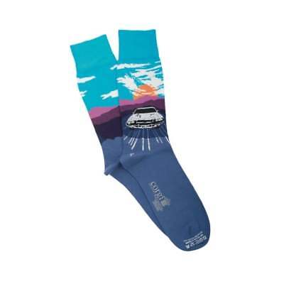 Corgi Socks Cadillac USA Road Trip Cotton BLUE