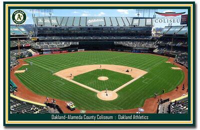 Fridge Magnet Oakland-Alameda Coliseum Athletics