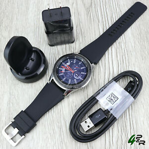 Samsung Galaxy Watch SM-R800 Bluetooth Smartwatch 46mm Stainless Steel - Silver