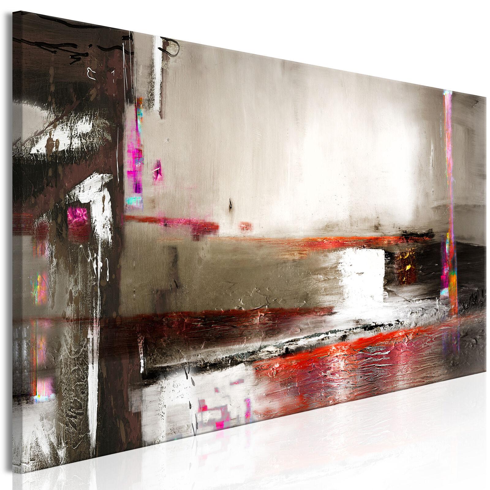 Wandbilder xxl Abstrakt Bilde grau Leinwand Bilde Abstrakt ...