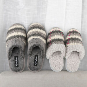 378f6cb1393f Image is loading Women-Home-Slippers-Shoes-Plush-Winter-Warm-Girl-