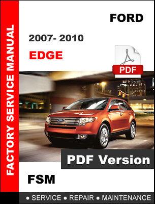 2008 ford edge wiring diagram ford edge 2007 2008 2009 2010 service repair workshop manual  ford edge 2007 2008 2009 2010 service