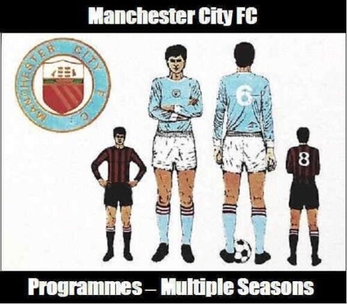 Programme-Manchester-City-Football-Club-Home-Programmes-Various-1967-to-1981