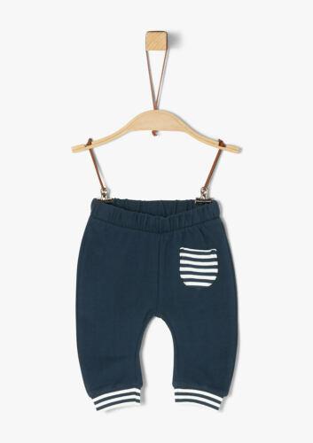 Neu Newborn und Hose blau s.Oliver Baby Boy Langarmshirt in türkis Gr 50//56