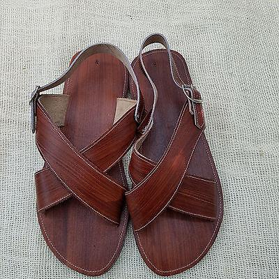 Men/'s Mexican Sandal Huacache cruzado. Huarache Artesanal Mexicano