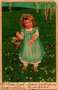 LITTLE-GERMAN-GIRL-WITH-BASKET-EMBOSSED-FAST
