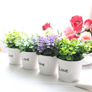 Am-DI-1Pc-Potted-Artificial-Flower-Plant-Bonsai-DIY-Garden-Wedding-Home-Decor