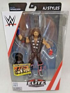 WWE Mattel AJ Styles Elite Series #61 Figure