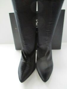 cd866d36ff8 Details about MISSGUIDED BRIELLA-1 LADIES BLACK VELVET PERSPEX HEELED SOCK  ANKLE BOOT SIZE 8