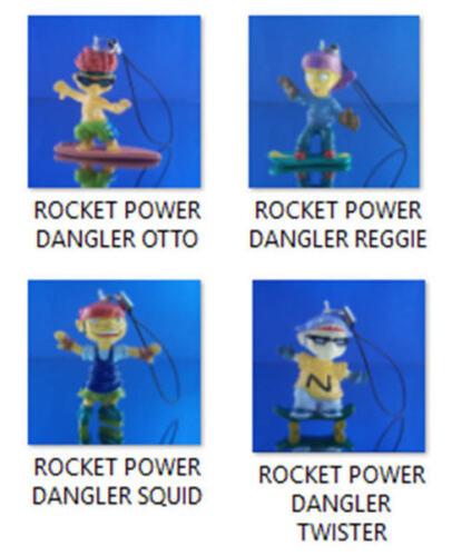YOU PICKONE OR GET WHOLE SET ROCKET POWER FIGURE DANGLER ORNAMENTS PULLS