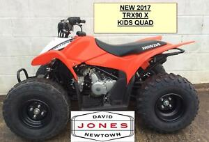 new honda trx90 x sportrax 4x2 2wd quad bike atv four wheeler kids