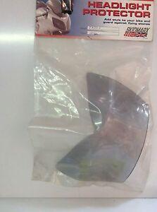 Kawasaki Z750 2007-2012 Headlight Protector Light Grey Tint,made N The Uk,new .