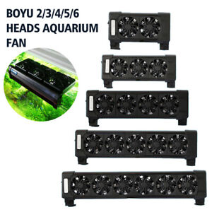 Boyu-2-3-4-5-6-Heads-Aquarium-Fan-FS-602-603-604-605-606-Aquarium-Cooling-Fan
