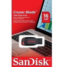 SanDisk 16GB USB SD CZ50 Cruzer Blade 16G USB 2.0 Flash Drive SDCZ50-016G