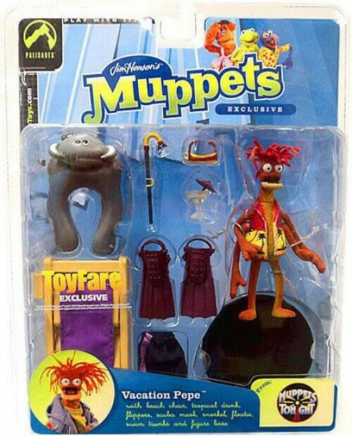 The Muppets Muppets Tonight Pepe Exclusive Action Figure