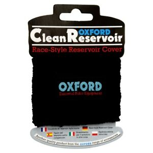 Oxford-Motorcycle-Motorbike-Clean-Reservoir-Brake-Cover-Race-Style-Black-OF777-T