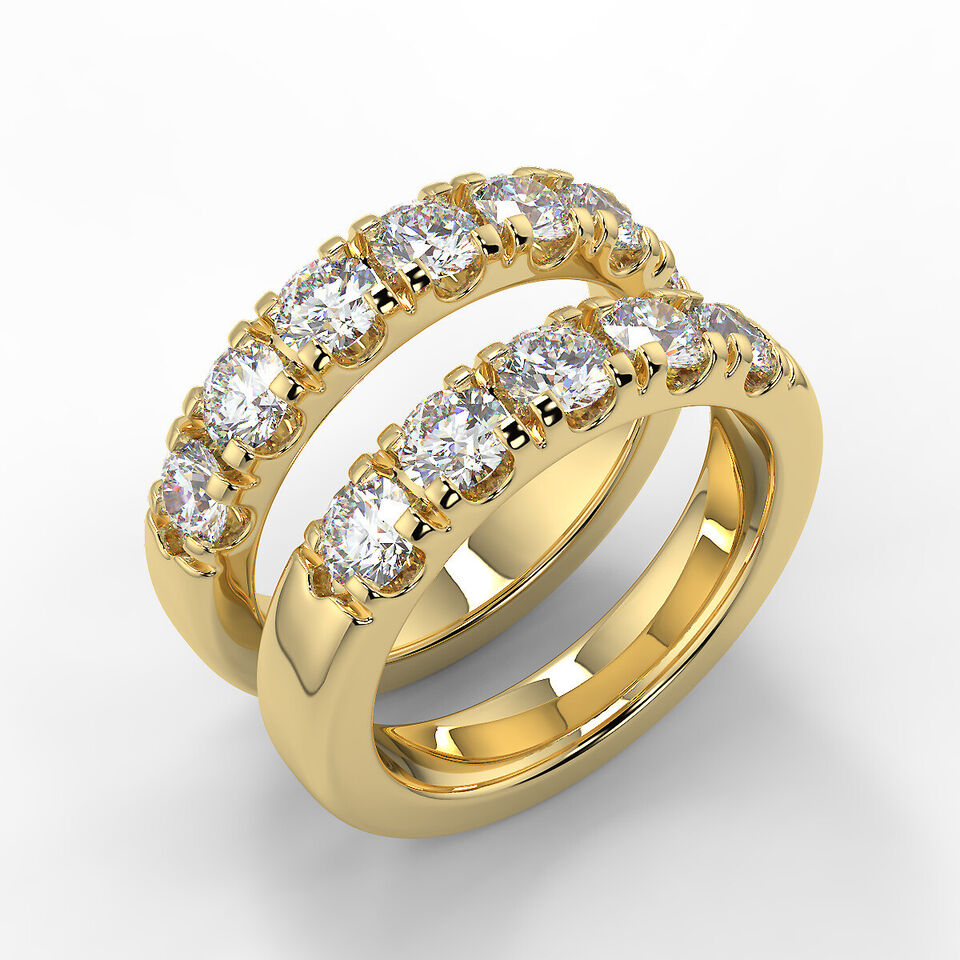 Få et godt tilbud på diamant allianceringe.