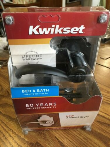 KWIKSET 730AUL AUSTIN LEVER HANDLE BED /& BATH VENETIAN BRONZE 97300-808