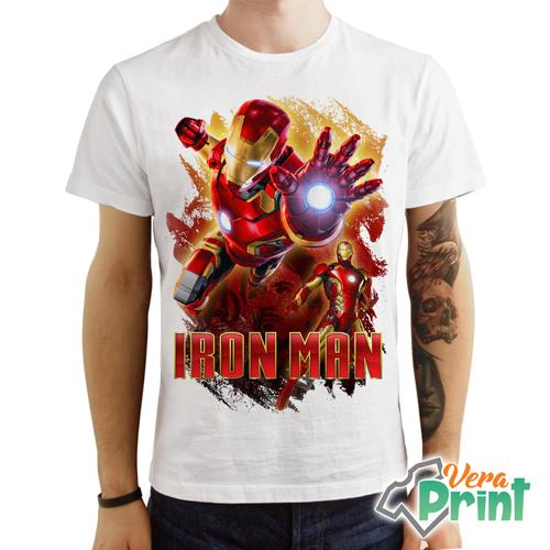 T Shirt Maglietta The Avengers Endgame Iron Man Tony Stark Marvel Studio Uomo