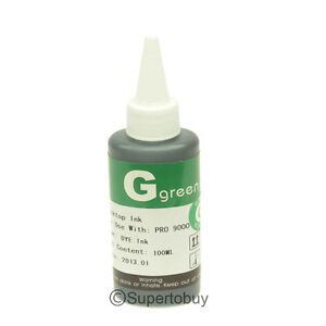 100ML-Green-Refill-INK-Bottles-For-CANON-PRO-9000-MARK-II-CISS-CIS