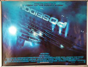 Cinema Poster Poseidon 2006 Main Quad Kurt Russell Richard Dreyfuss Ebay