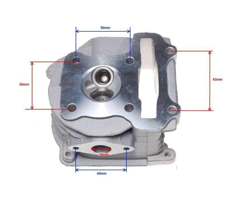 KR Zylinderköpf  Satz 250ccm ATV LONCIN CROSS 250 CC 4T .. Cylinder head