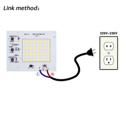 2835 5730 10W 20W 30W 50W 100W LED Chip COB Integrated Smart IC Flood Light 220