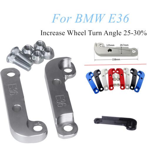 For BMW E36 Aluminium Drift Lock Adapter Drift Increase Wheel Turn Angle 25-30/%