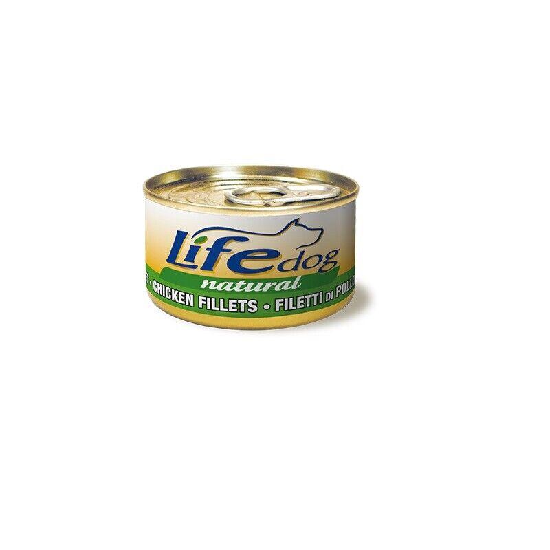 Life Hund Natural Filets über Huhn 90 Gr X 24