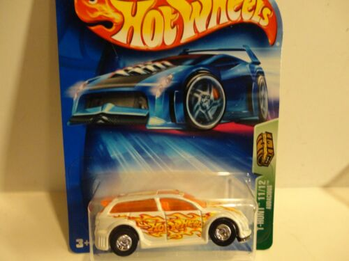 2004 Hot Wheels Treasure Hunt #111 White Audacious w//Real Riders