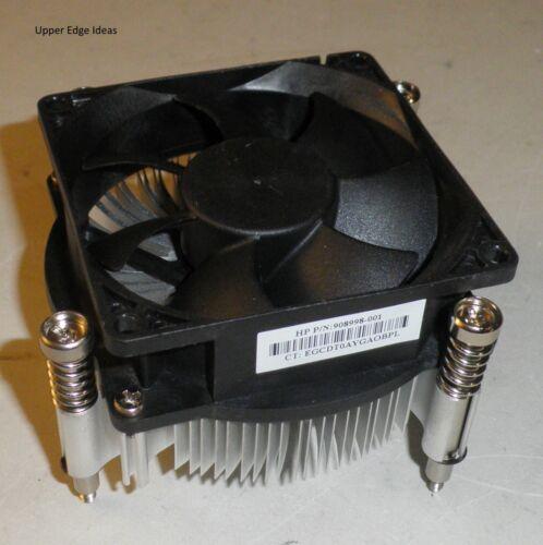 HP Prodesk 400 G3 G4 SFF SFF CPU Cooling Fan w// Heatsink 908998-001