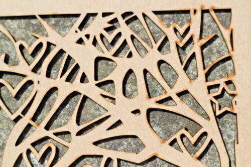 Elephant MDF Craft Plaque Hedgehog Tea Wooden Laser Cut Picture Art Rabbit