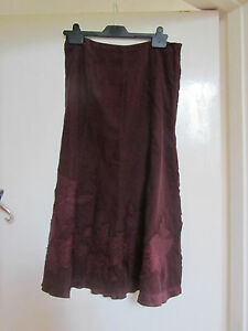 Wine-Red-Thin-Corduroy-Monsoon-Maxi-Skirt-in-Size-8