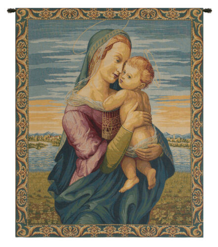 Madonna with Child by Raphael Italian Wall Hanging WW-6405-10952