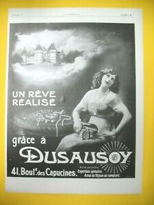 Publicite-de-Prensa-Dusausoy-Conocimientos-Compra-Joya-Reve-Hecho-Ad-1912