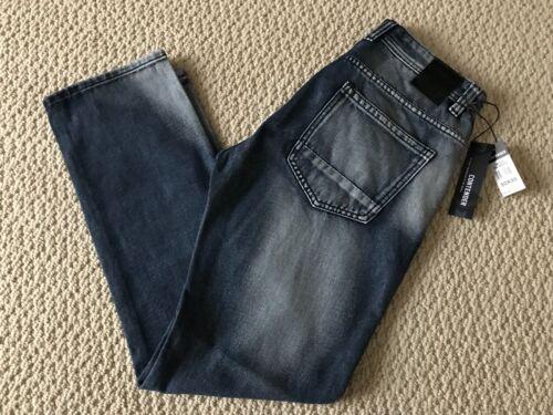 NWT Men/'s Contender 9FT25 Dark Indigo Stonewashed Slim Straight Jeans SIZE 30-40