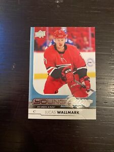 17-18-UD-SERIES-1-LUCAS-WALLMARK-YOUNG-GUNS-RC-SP-ROOKIE-207