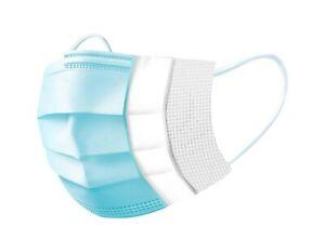 50x Einweg OP Mundschutz Masken Mundnase Gesichtsmaske Schutzmaske Filtermaske