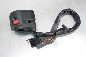 1993-Kawasaki-Ninja-ZX6-ZX600D-LEFT-CLIP-ON-HANDLE-HORN-SIGNALS-SWITCH-SWITCHES