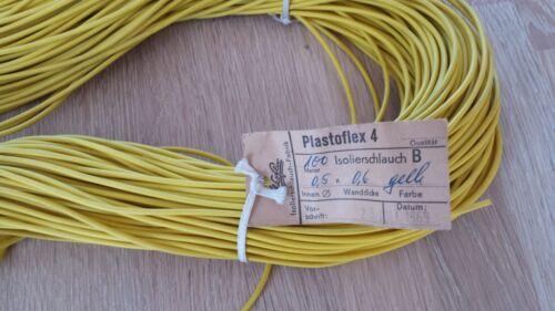 0,5mm innen gelb 10 Meter EXTRA DÜNNER ISOLIERSCHLAUCH D=1,7mm