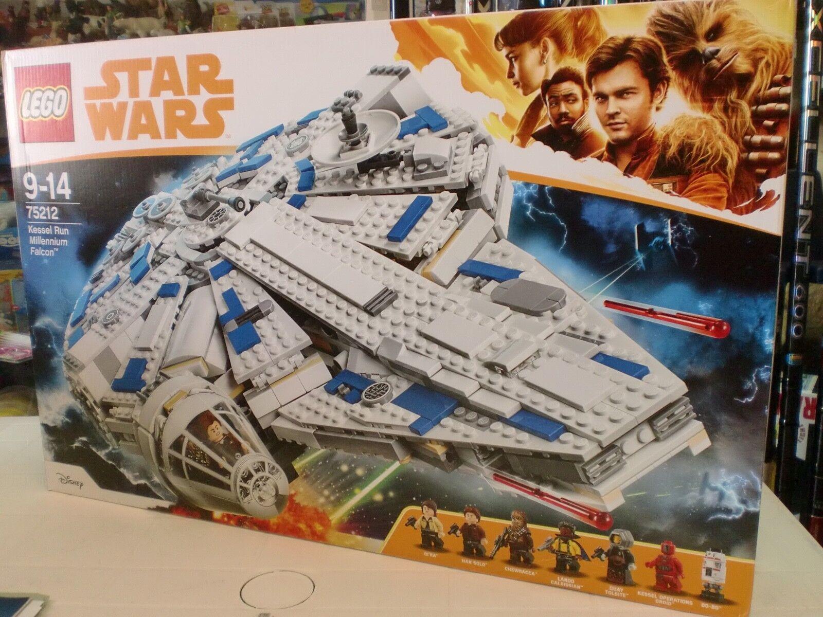 LEGO 75212 - KESSEL RUN MILLENNIUM FALCON - SERIE STAR WARS