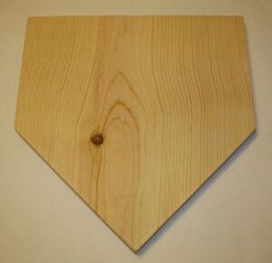 ... Wooden Sign Baseball Softball Home Plate Decor DIY Plaque | eBay