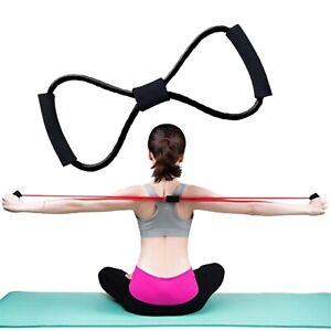 Rubber Yoga Chest Expander Pull Rope Stretcher Gym Exercise Muscle Home Training
