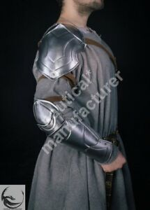 Unisex Vintage Medieval Shoulder Cape Larp Knight Cosplay Costume Fighting Cape